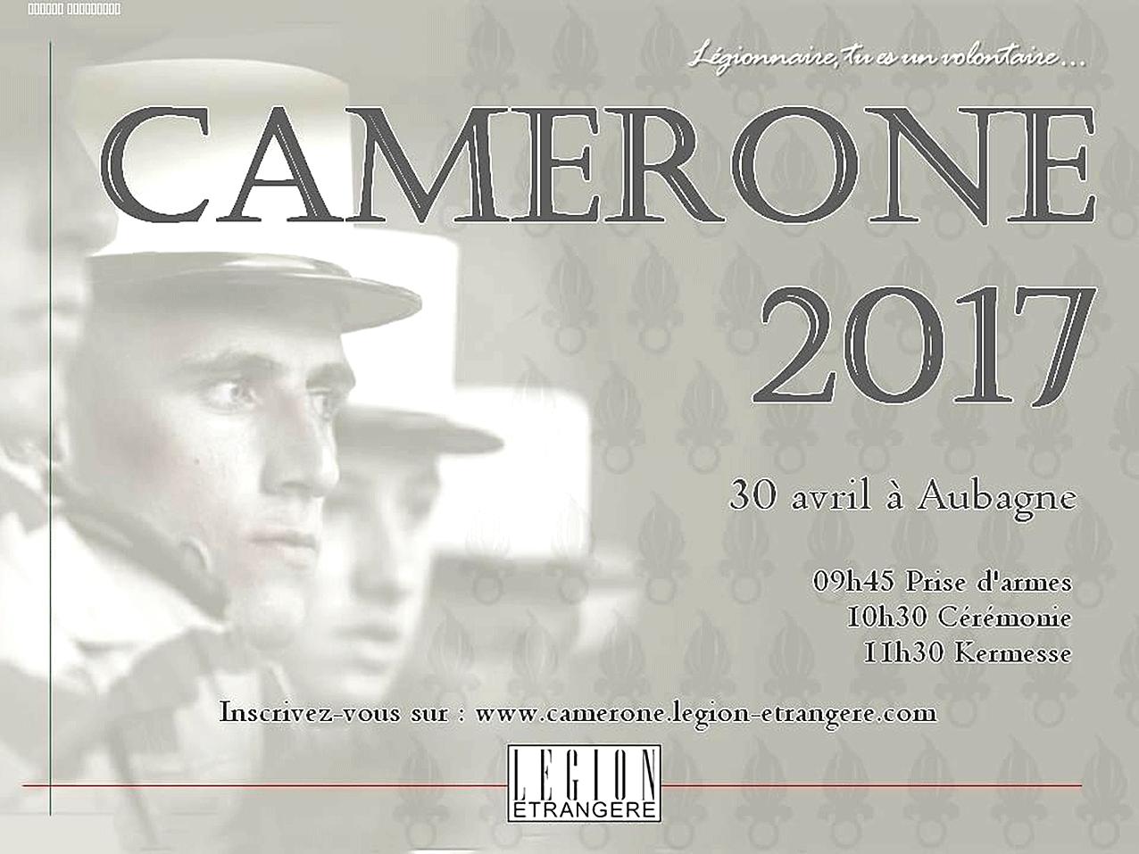 Camerone 2017